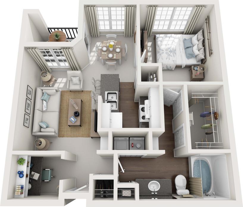 Furnished Apartments Houston: Westchase Apartments Houston