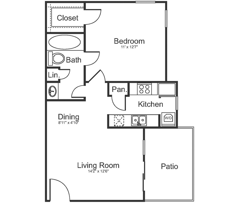 Trinity Lakes Apartments: Apartments For Rent In Midland, TX