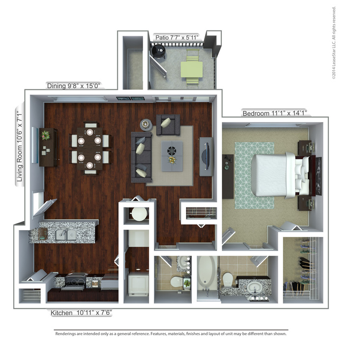 1 2 bedroom apartments in fort lauderdale blu on - 2 bedroom apartments in fort lauderdale ...
