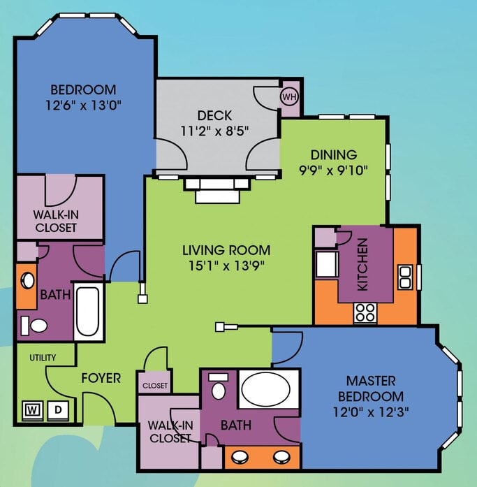 1 - 3 Bedroom Apartments Raleigh, NC