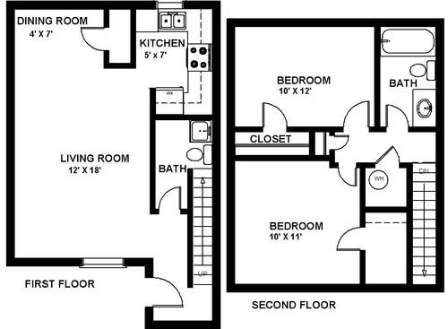 albuquerque  nm manzano vista apartments floor plans