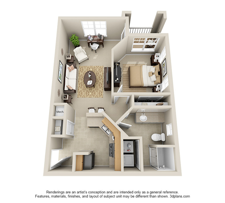 One & Two Bedroom Apartments In Charlotte, NC