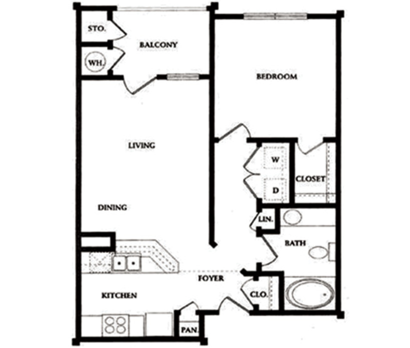 spacious one  two and three bedroom apartments in sarasota  fl