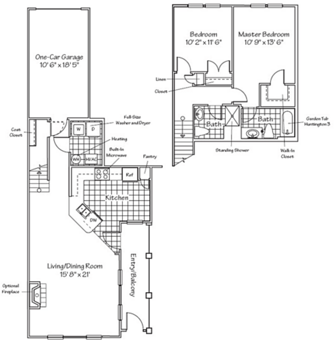 1 3 Bedroom Apartments In Rockville Md Huntington At