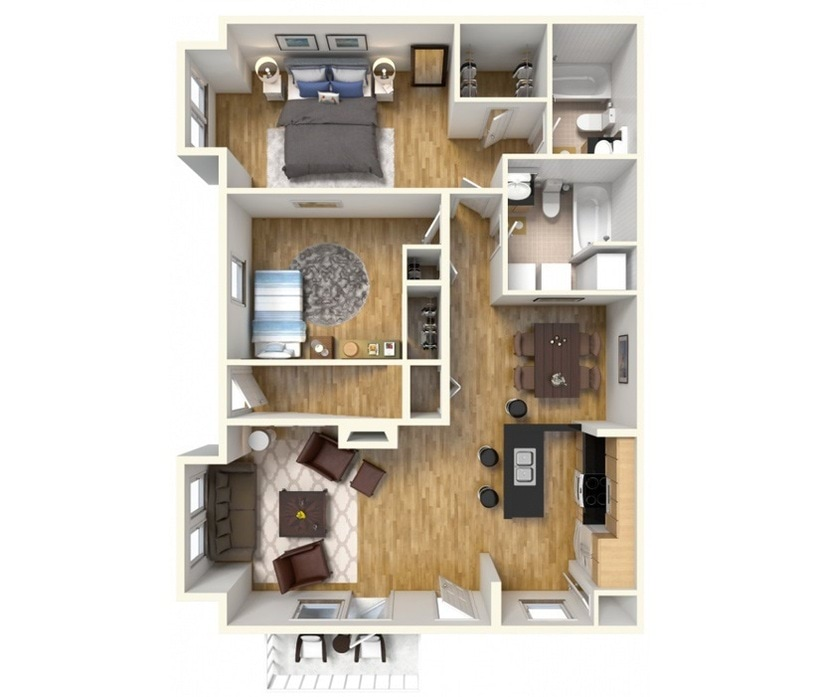 Elkton Apartments And Townhomes Floor Plans At Stonegate