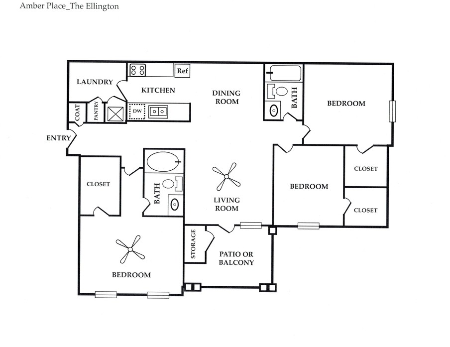 warner robins  ga amber place floor plans