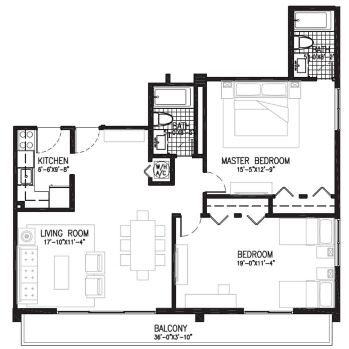 view floor plans of bayshore grove apartments in miami  fl