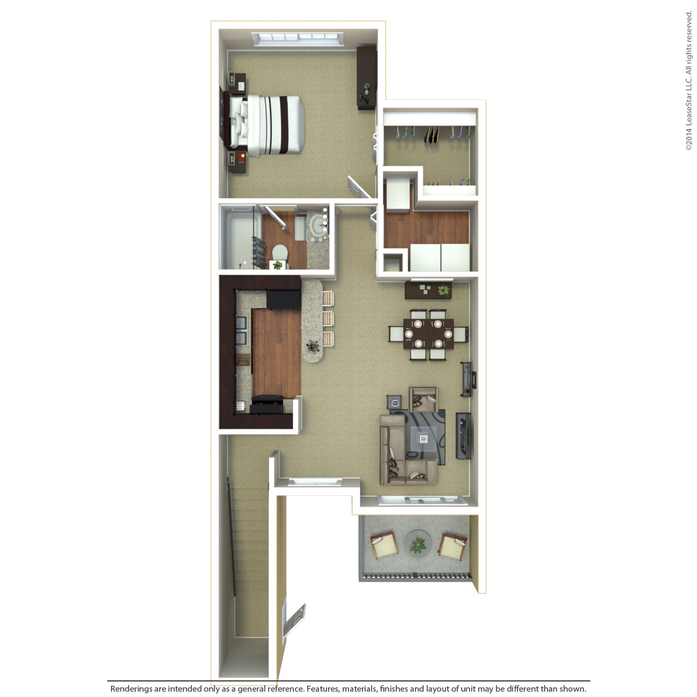 The Breakers Apartments: Coral Springs, FL Coral Falls Floor Plans