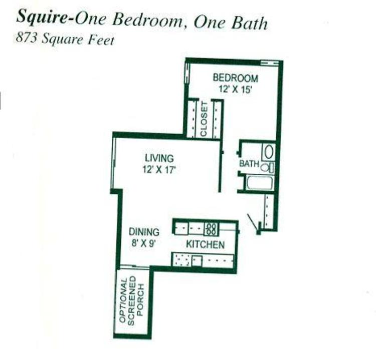 Village Squire Apartments: Winter Park Village Floor Plans