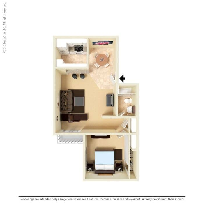 Awe Inspiring Floor Plans Of 1 Bedroom Studio Apartments In Los Angeles Download Free Architecture Designs Scobabritishbridgeorg