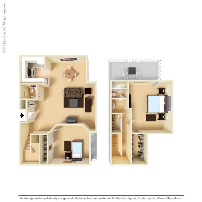 Studio, 1 & 2 Bedroom Apartments in San