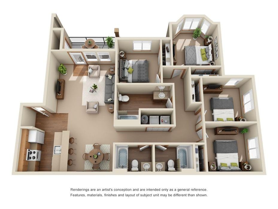 Apartments In Cheney Wa Eagle Point Floor Plans