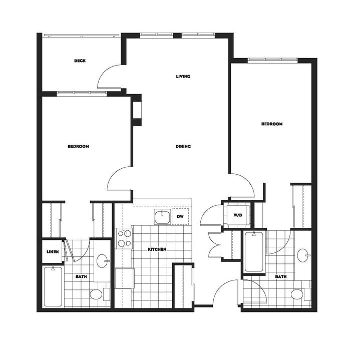 Luxury Apartments Seattle | Summit at Madison Park Floor Plans on