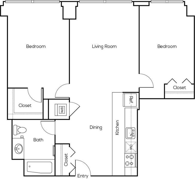 Apartments Greektown Chicago Il Floor Plans At The Van Buren