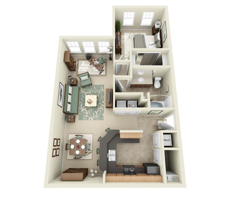 Arbor Glen Apartments: 3 Bedroom Apartments In Lakeland FL