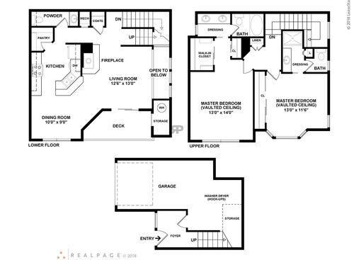Aliso Viejo Ca Barcelona Resort Apartments Floor Plans