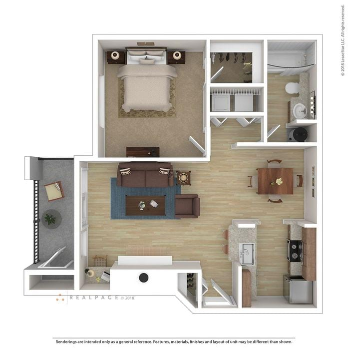 Puyallup, WA Meridian Pointe Apartments Floor Plans