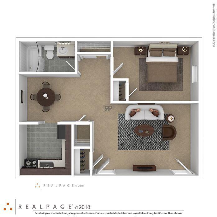 1 & 2 Bdrm Apartments For Rent
