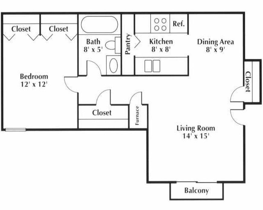 1-3 Bedroom Apartments Arvada, CO   Floor Plans at Arvada ...