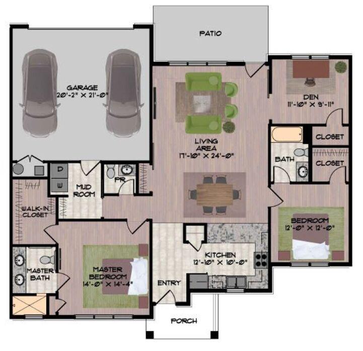Apartments In Dublin Ohio: Dublin, OH Hawthorne Commons Floor Plans