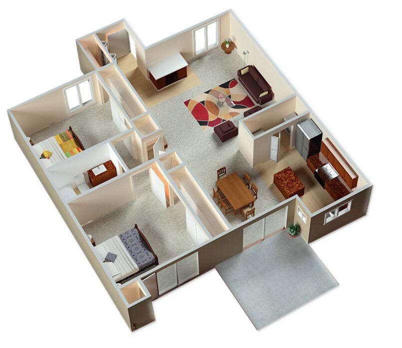 Apartments In Albuquerque Nm Floor Plans At Mesa Del Oso