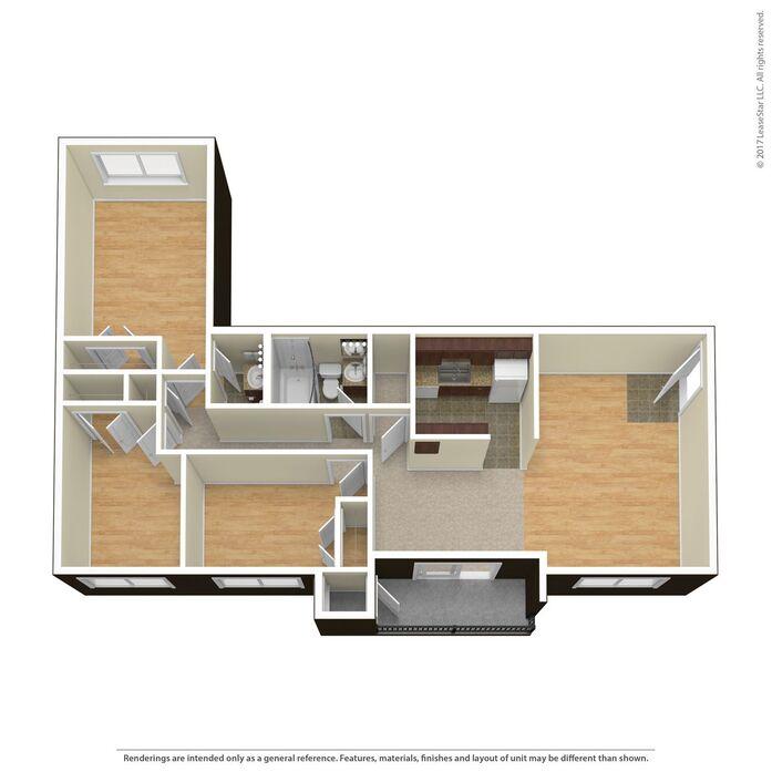 Alexandria, VA Stony Brook Apartments Floor Plans