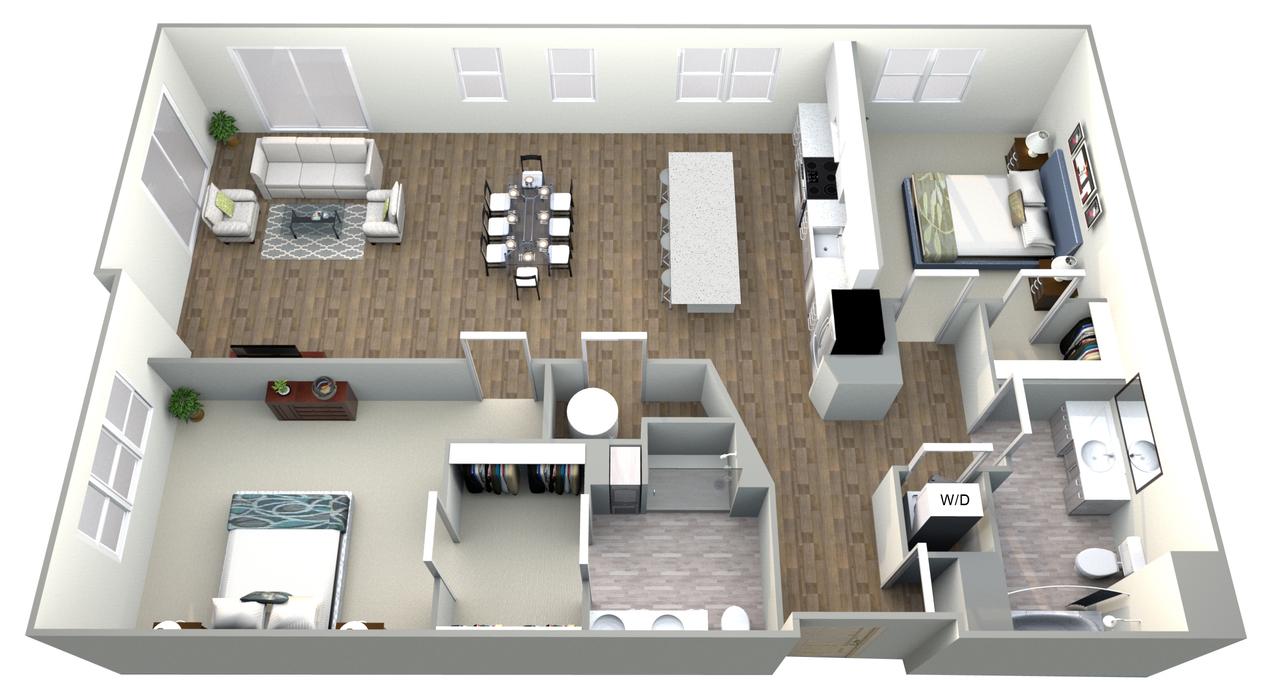 Burlington Apartments | The Huntington