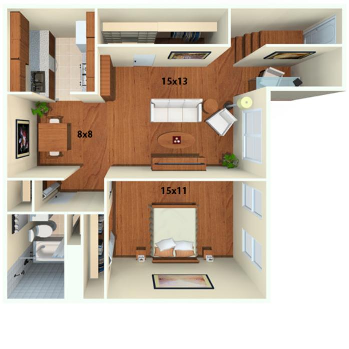 1 3 Bedroom Apartments In Philadelphia Chestnut Hill Village