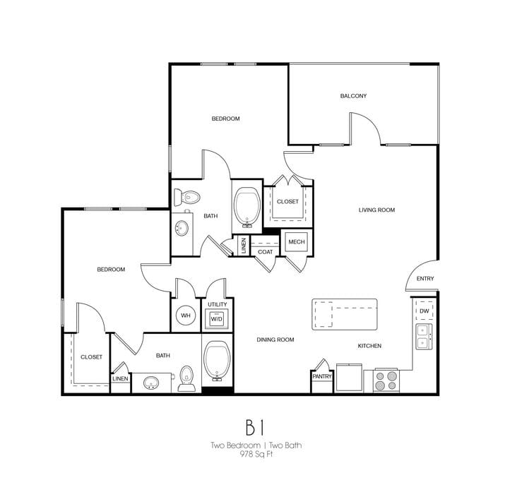 Apartments In Atascocita: Humble, TX Standard On The Creek Floor Plans
