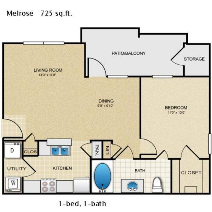 Mason Park Apartments: Katy, TX Mason Park Floor Plans