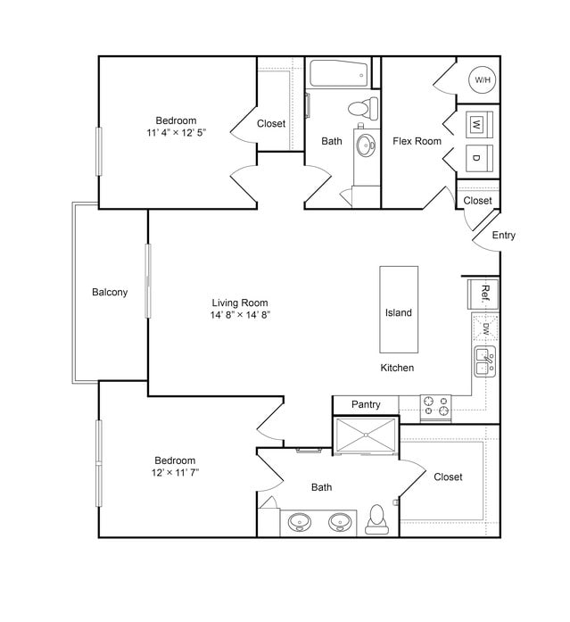 1-2 Bedroom Apartments Overland Park, KS