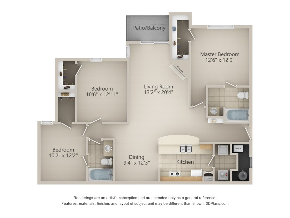 Floor Plans 2d