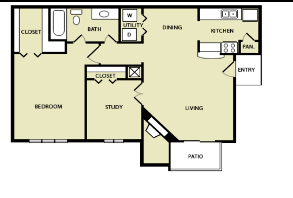 1 2 bedroom apartments in houston tx wilshire park floor plans for 1 bedroom with study apartments in houston