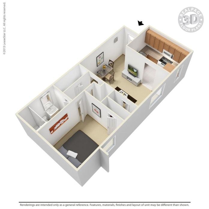 Albuquerque, NM Manzano Vista Apartments Floor Plans