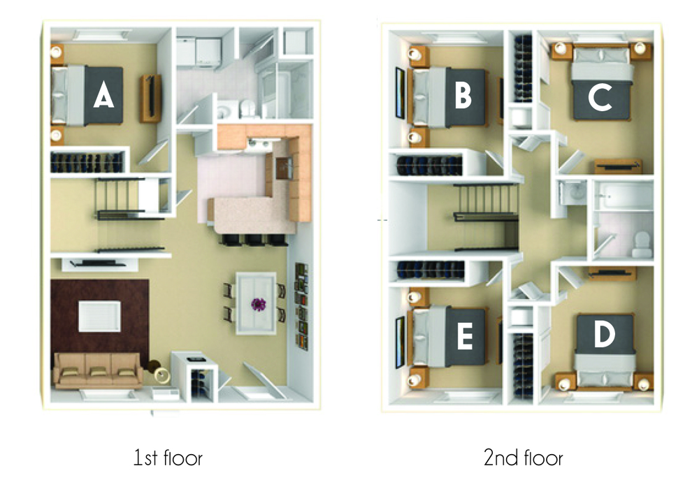 Duluth, MN Campus Park Apartments Floor Plans | Apartments ...