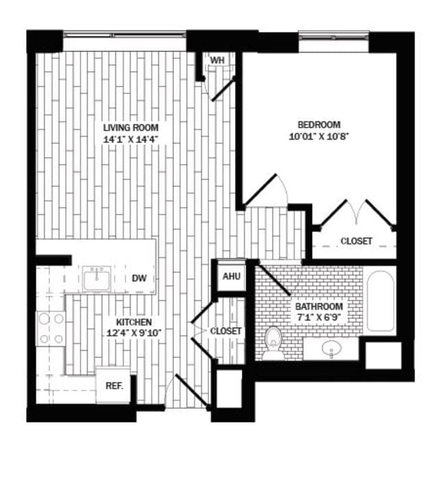 Stamford, CT Metro Green Terrace Floor Plans