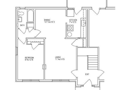 San Antonio Tx Bel Aire Apartments Floor Plans