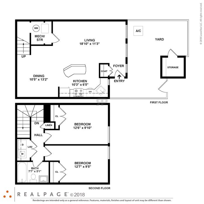 Island Walk Floor Plans