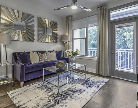 Living Room-Greenside Apartments