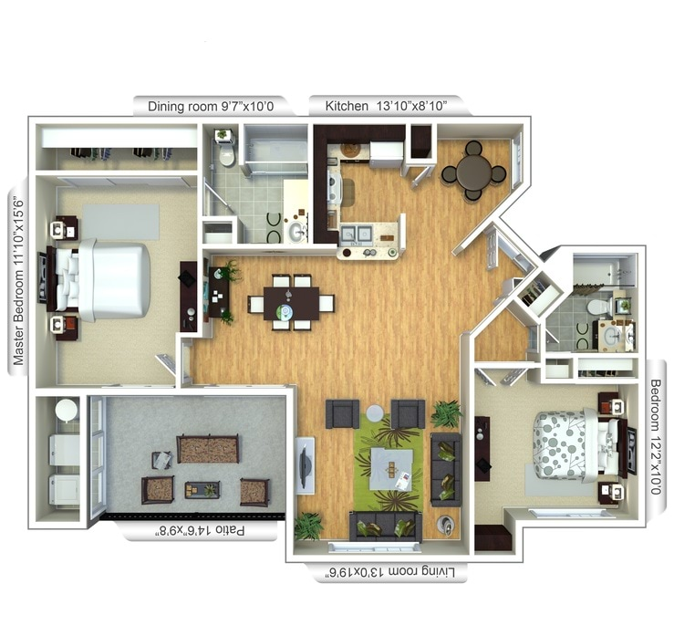 Apartments In Plantation Fl: Plantation, FL Verona View Floor Plans