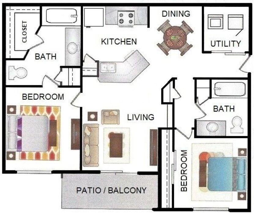 Apartments In Rosenberg Tx: Rosenberg, TX Briarstone Floor Plans