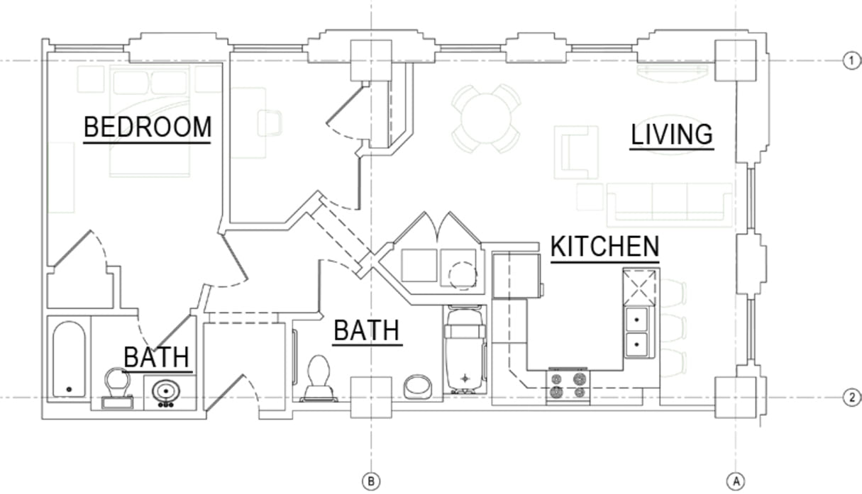 the wainwright downtown apartments floor plans