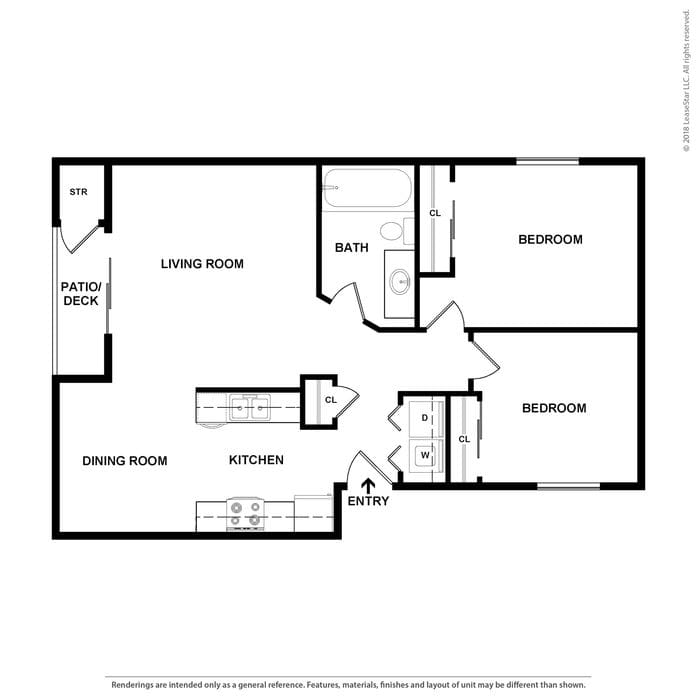 Portland, OR Windsor Manor Floor Plans