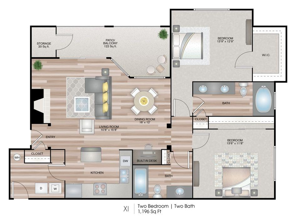 Richardson Tx Breckinridge Point Floor Plans Apartments In