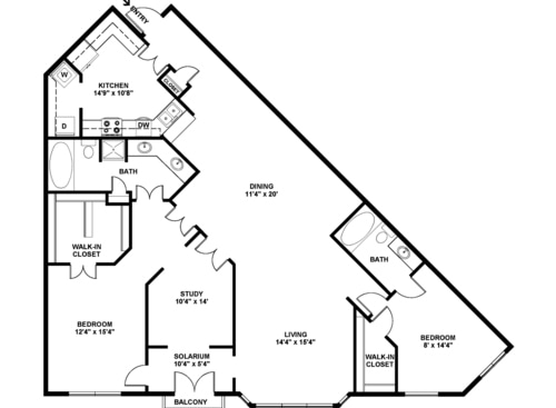 Tanglewood Apartments Houston