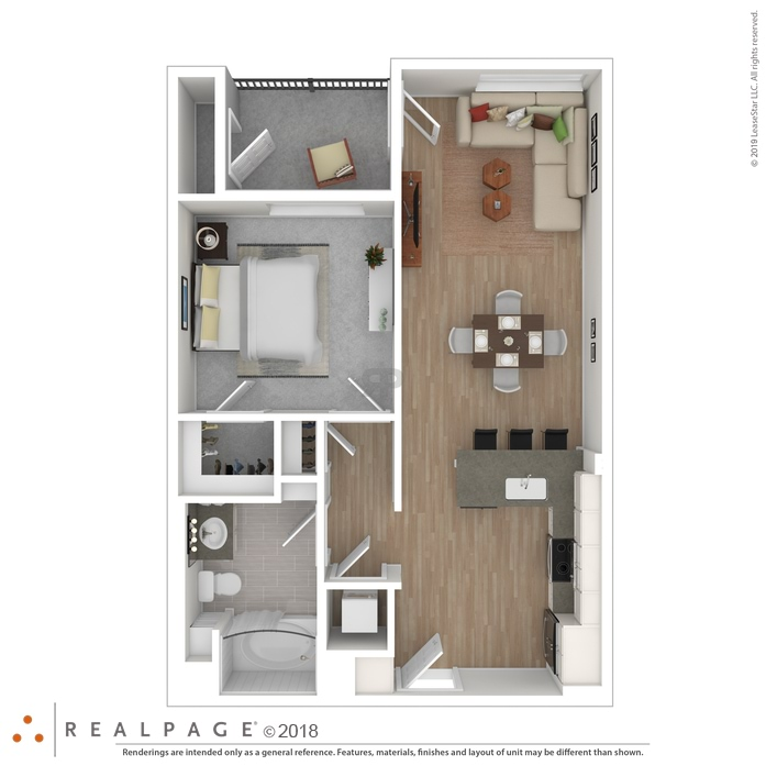 Fullerton, CA 770 South Harbor Floor Plans | Apartments in ...