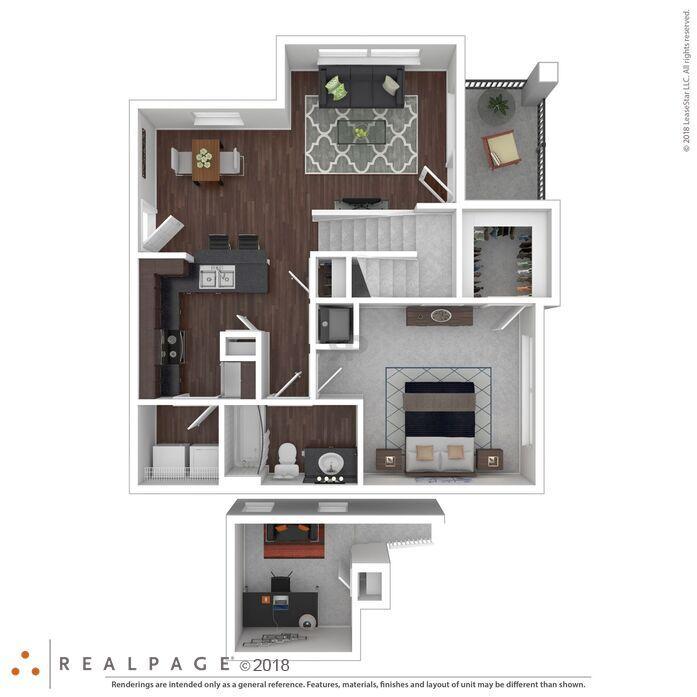 Loft Apartments Augusta Ga: Trails At Eldridge Parkway
