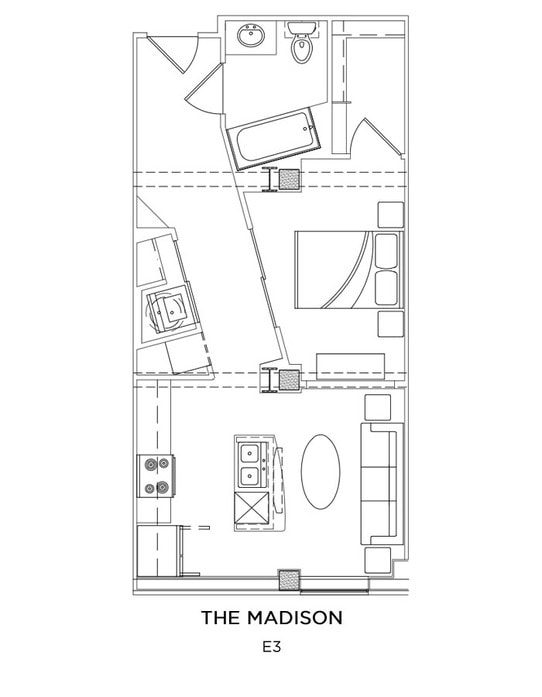 The James Floor Plans Apartments In Norfolk Va