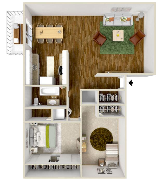 55 Plus Apartments Salem, Oregon
