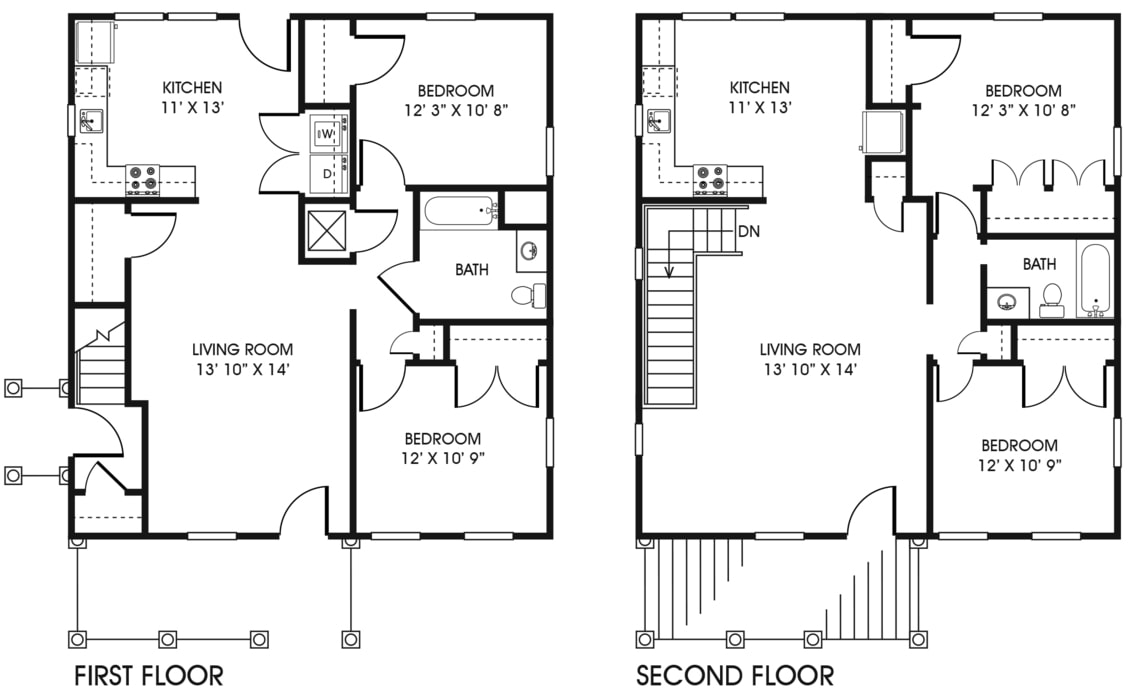 Marvelous Broad Creek Apartments Floor Plans Home Interior And Landscaping Thycampuscom